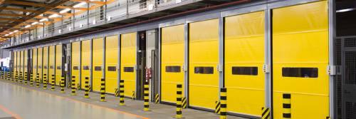 Industrijska PVC rolo vrata velike brzine