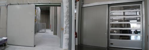 Industrijska bočna klizna vrata